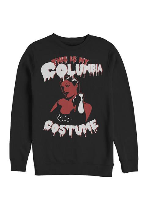 Rocky Horror Picture Show This is My Columbia Costume Crew Fleece Graphic Sweatshirt
