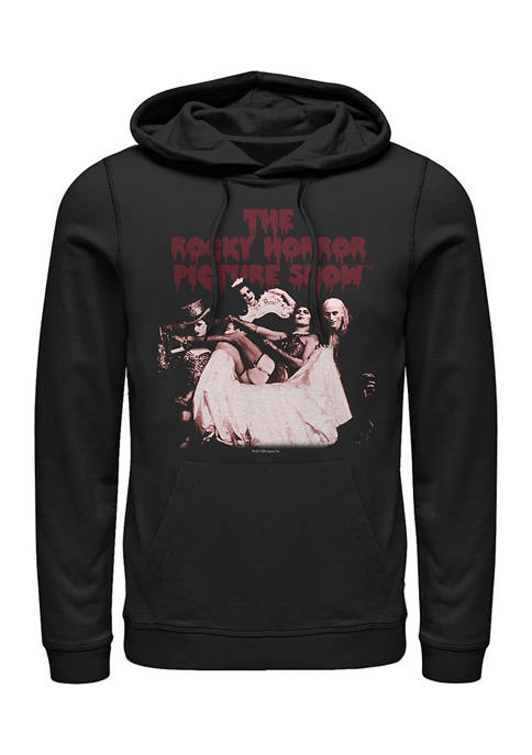 Rocky Horror Picture Show Throne Tonal Graphic Fleece Hoodie