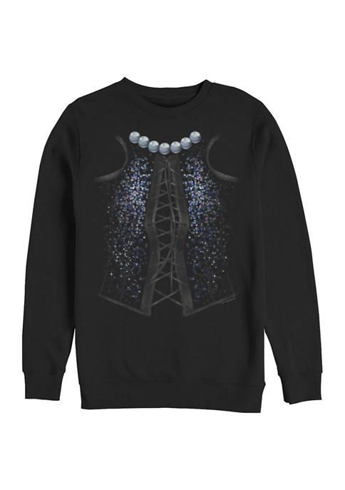 Rocky Horror Picture Show Frank Corsetti Crew Fleece Graphic Sweatshirt