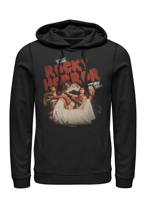 Rocky Horror Picture Show Throne Pose Graphic Fleece Hoodie