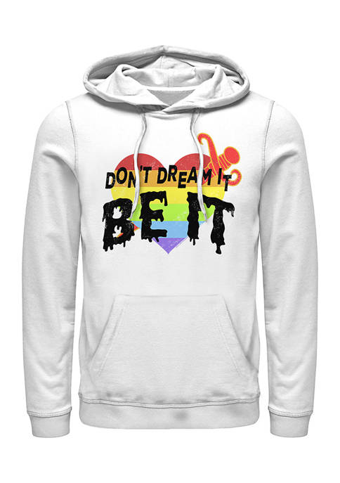 Rocky Horror Picture Show Dont Dream Be It Graphic Fleece Hoodie