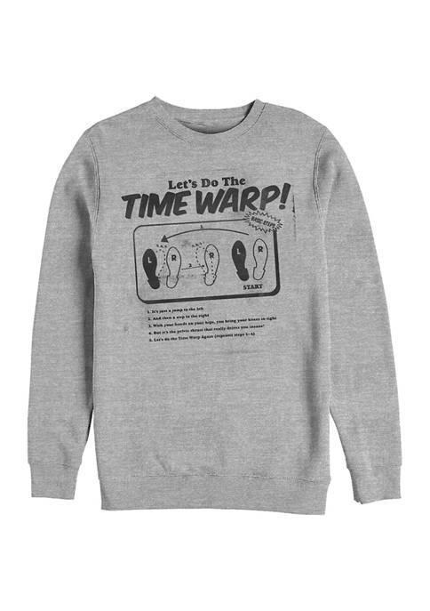 Rocky Horror Picture Show Time Warp Photocopy Crew Fleece Graphic Sweatshirt