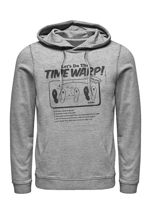 Rocky Horror Picture Show Time Warp Photocopy Graphic Fleece Hoodie