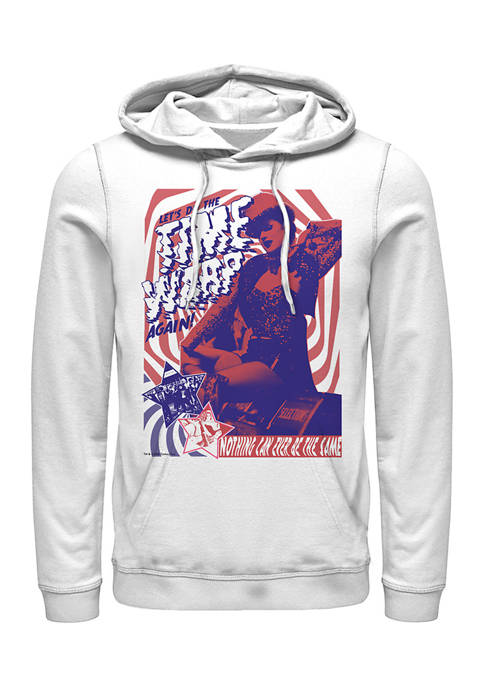 Rocky Horror Picture Show Time Warping Graphic Fleece Hoodie