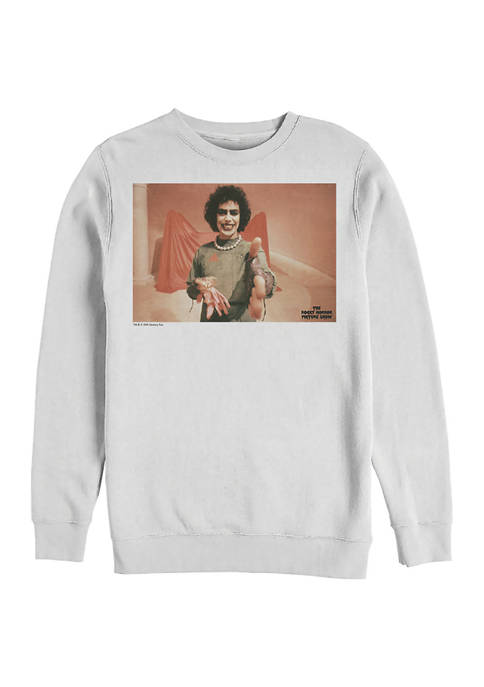 Rocky Horror Picture Show How Do You Do Crew Fleece Graphic Sweatshirt