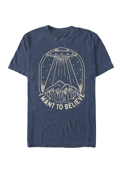 UFO Stamp Graphic T-Shirt