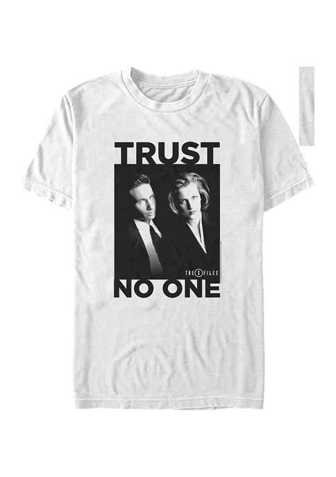 Trust No One Graphic  T-Shirt
