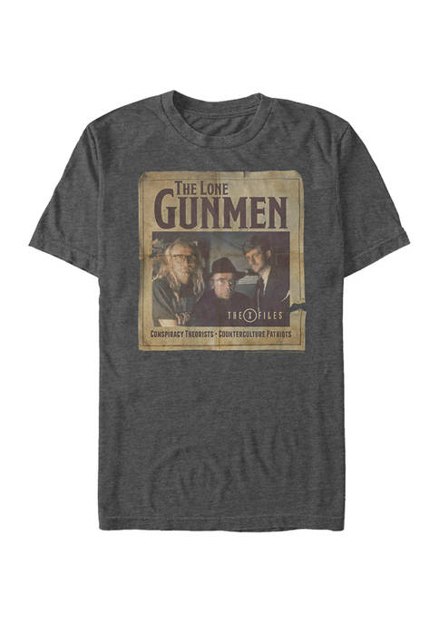 Lone Gunmen Poster Graphic T-Shirt