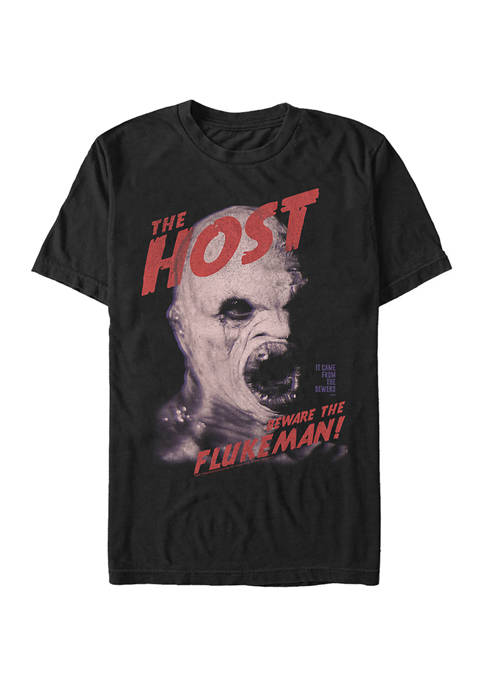 X-Files Horror Host Graphic T-Shirt