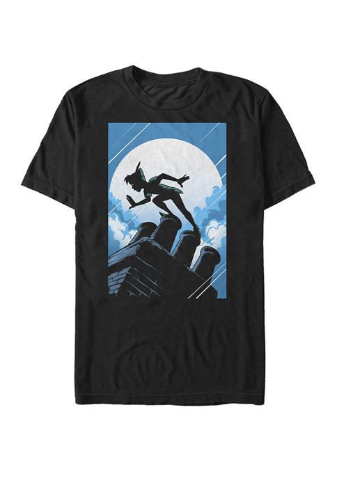 Big & Tall Peter Pan Silhouette Poster Short Sleeve T-Shirt