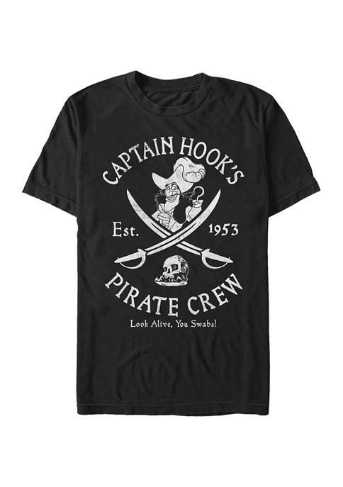 Big & Tall Tinkerbell Salty Crew Graphic Short Sleeve T-Shirt