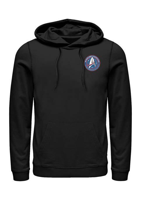 Starfleet Badge Graphic Hoodie
