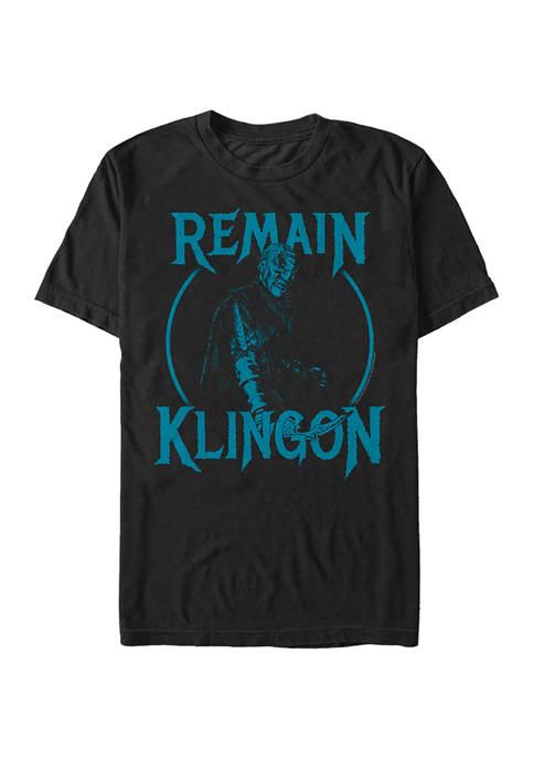 Remain Klingon Graphic T-Shirt