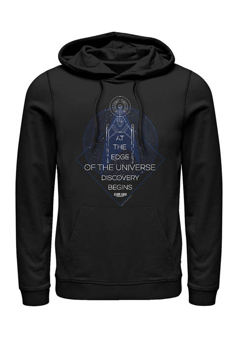 Celestial Lines Graphic Hoodie