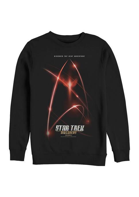 Second Logo Graphic Crew Fleece Sweatshirt