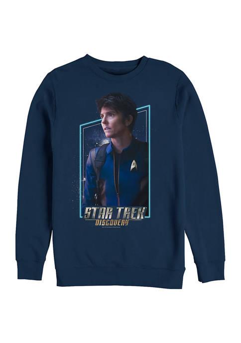 Denise Graphic Crew Fleece Sweatshirt