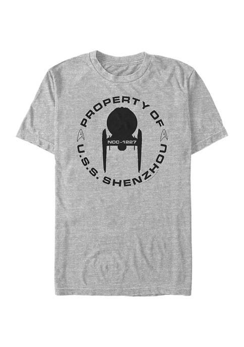 Property Of USS Shenzhou Graphic T-Shirt