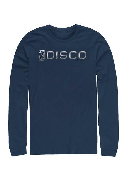 Disco  Logo Graphic Long Sleeve T-Shirt
