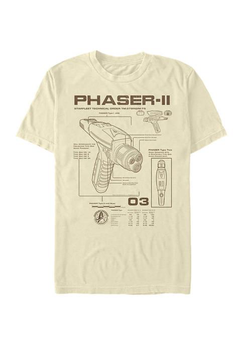 Phaser Schematic Graphic T-Shirt