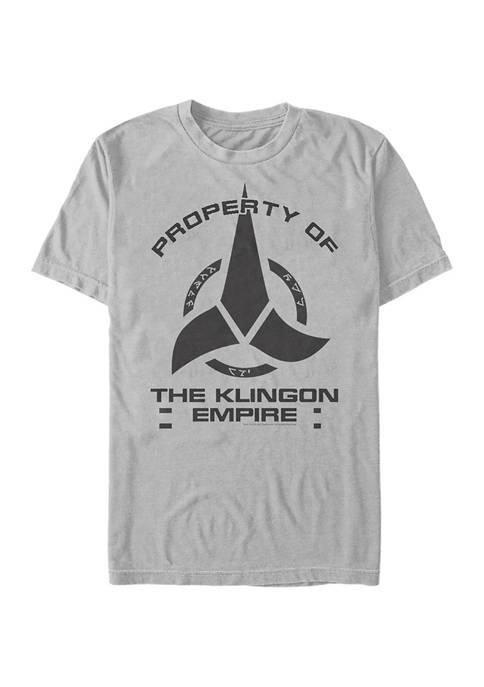 STAR TREK Klingon Empire Graphic T-Shirt