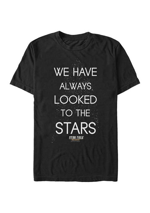 Star Searching Graphic T-Shirt