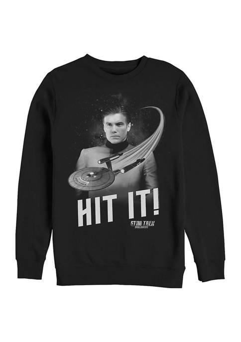 STAR TREK Pike Returns Graphic Crew Fleece Sweatshirt