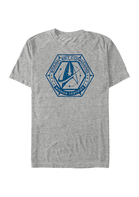 Mission Certified Distressed Graphic T-Shirt