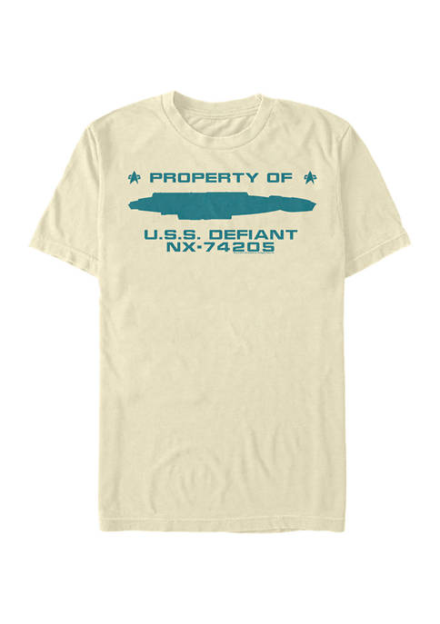 Property of USS Defiant Graphic T-Shirt