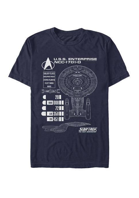 Enterprise Chart Short-Sleeve T- Shirt
