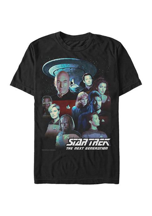 STAR TREK Gen Poster Graphic T-Shirt