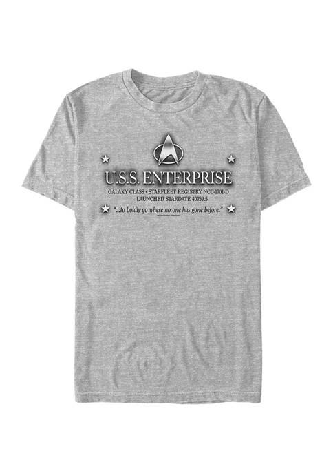 Enterprise Engrave Graphic T-Shirt