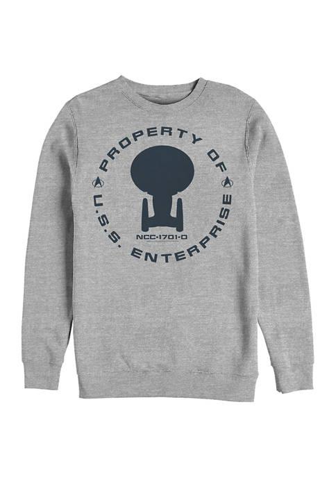 Enterprise Crew Graphic Crew Fleece Sweatshirt