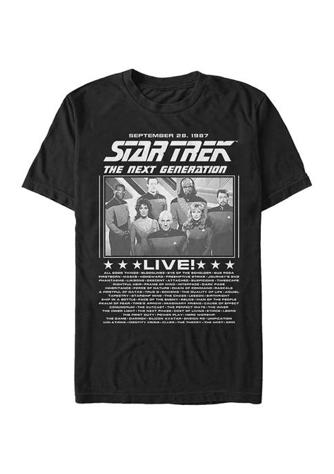STAR TREK Trek Concert Graphic T-Shirt