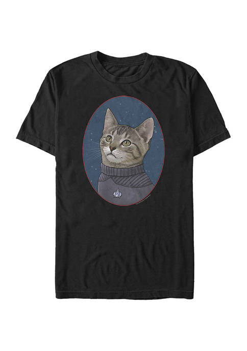 Wesley Cat Graphic T-Shirt