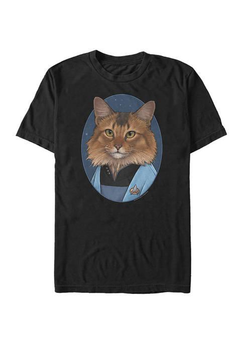 STAR TREK Crusher Cat Graphic T-Shirt
