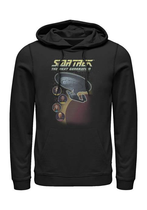 STAR TREK Heads Graphic Hoodie
