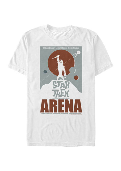 Star Trek Arena Poster Graphic T-Shirt