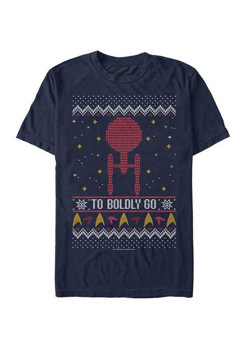 STAR TREK To Boldly Sweater Graphic T-Shirt