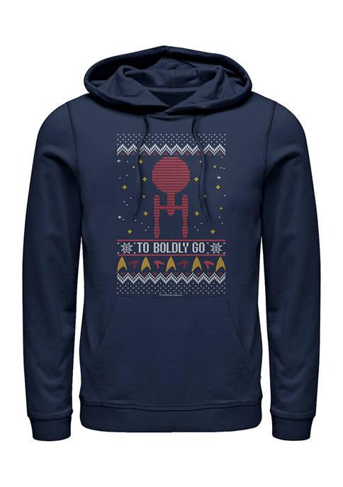 STAR TREK To Boldly Sweater Graphic Hoodie