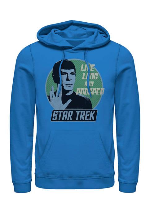 STAR TREK Spock Badge Graphic Hoodie