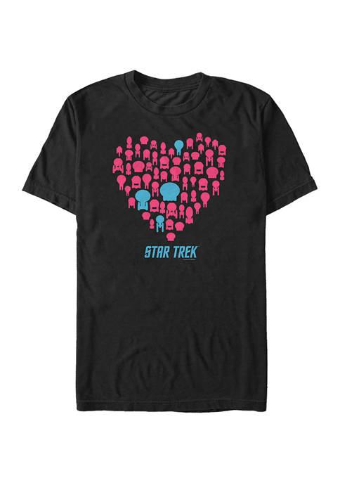 STAR TREK Trek Heart Graphic T-Shirt
