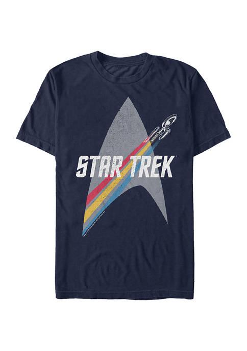 STAR TREK Prism Enterprise Graphic T-Shirt