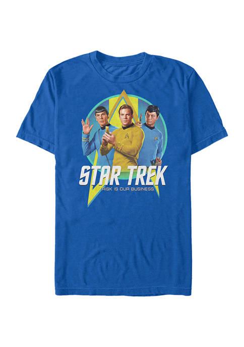 STAR TREK Trek Trio Graphic T-Shirt