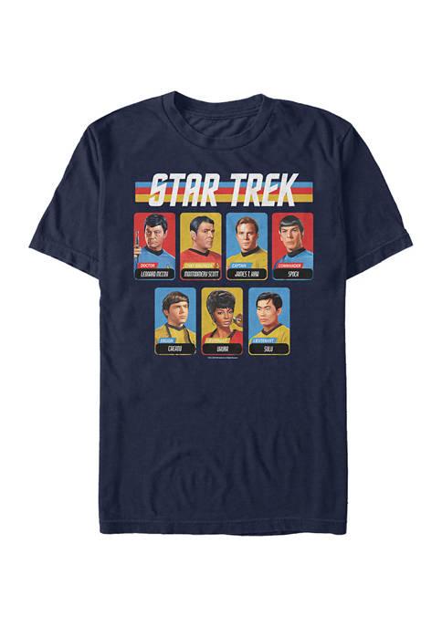 STAR TREK Cast Table Graphic T-Shirt