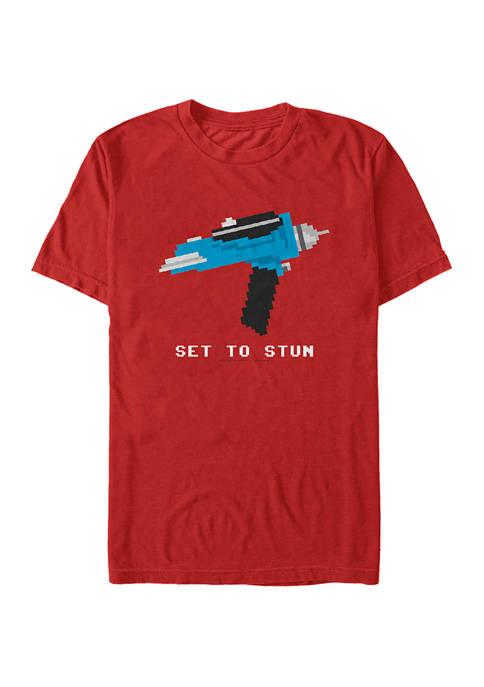 STAR TREK 8-Bit Stun Graphic T-Shirt