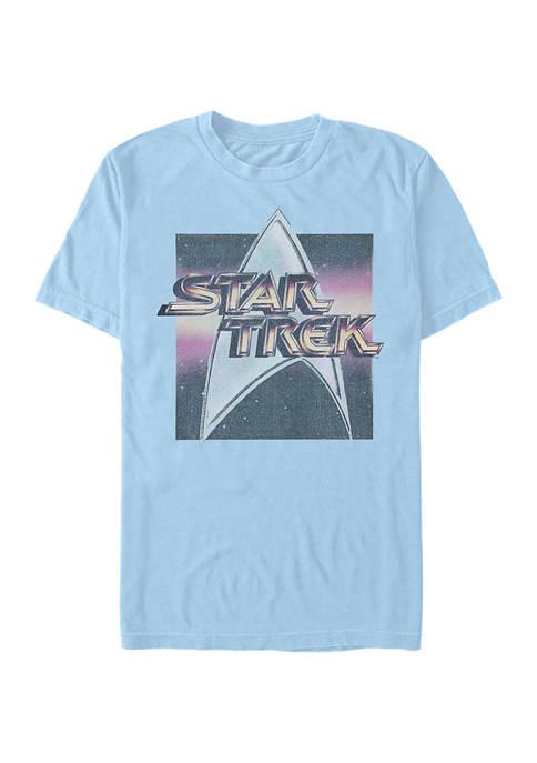 STAR TREK Logo Box Graphic T-Shirt