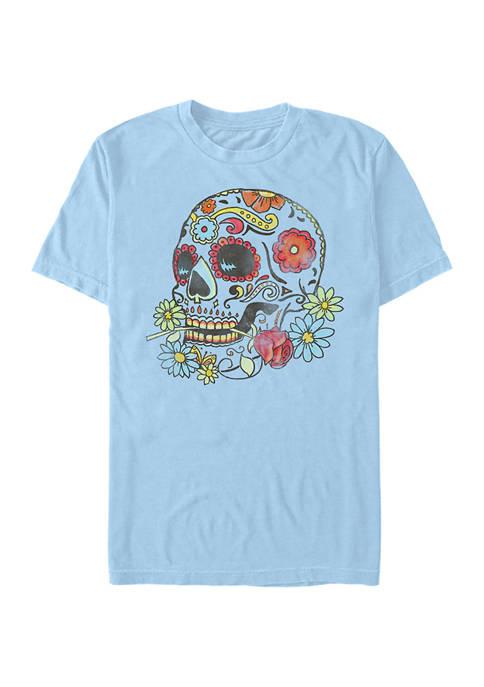 V-Line Calavera Graphic T-Shirt