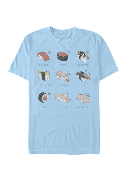 V-Line Sushi By Hand Graphic T-Shirt