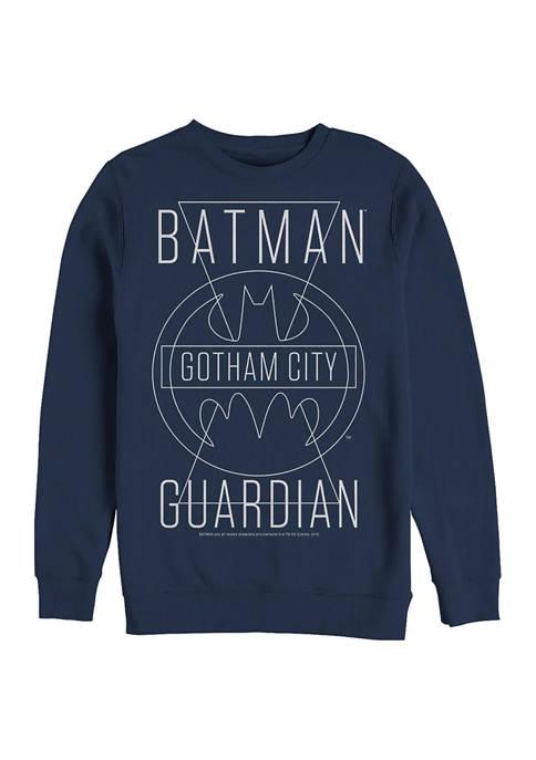 Batman™ Triangles Graphic Crew Fleece Sweatshirt
