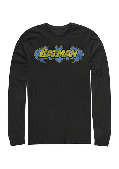 Batman™ Juniors B Simple Man Graphic Long Sleeve